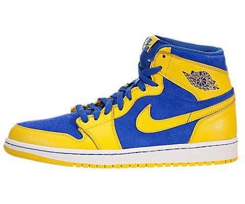 "Jordan 1 ""Warriors colors"""
