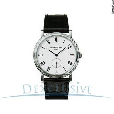 Patek Philippe Calatrava Men's White Gold Mechanical Watch - 5119G-001