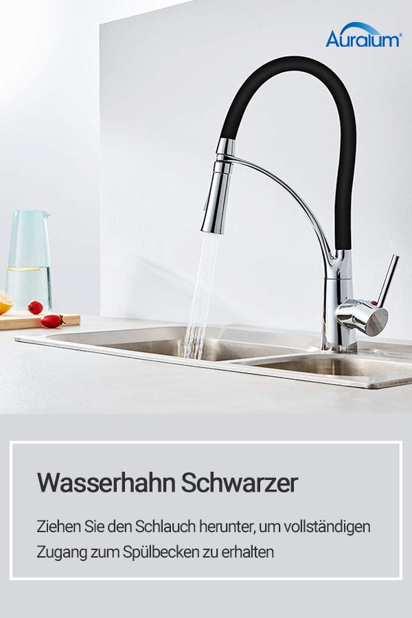 Auralum Ziehen Sie Den Schlauch Herunter Um Vollstandigen Zugang Zum Spulbecken Zu Erhalten Kuche Badezimmer Home Appliances Home Decor Sink