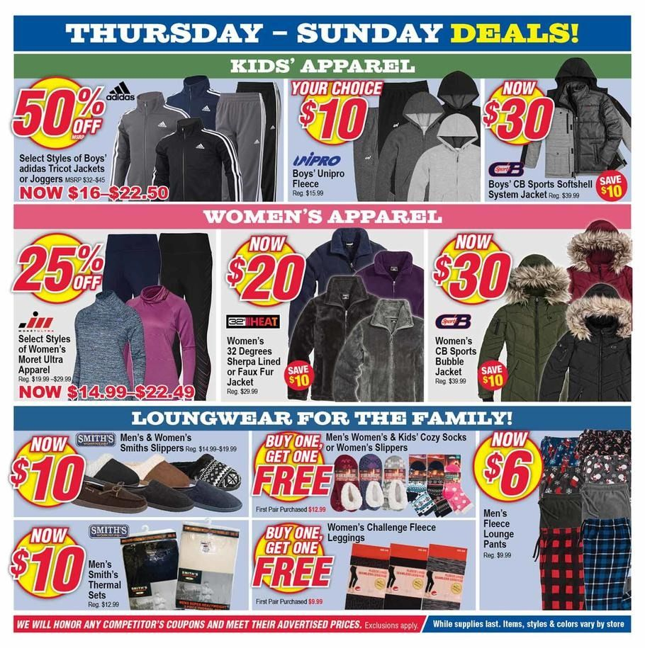 Modell's Black Friday 2018 Ads and Deals