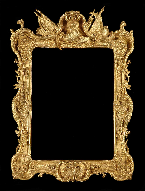 A GEORGE III GILTWOOD ROYAL PICTURE FRAME (4484231) | Bilderrahmen ...