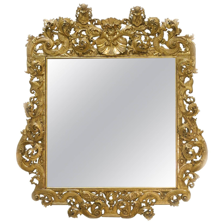 Late 19th Century Baroque Style Palace Mirror | mirror mirror ...