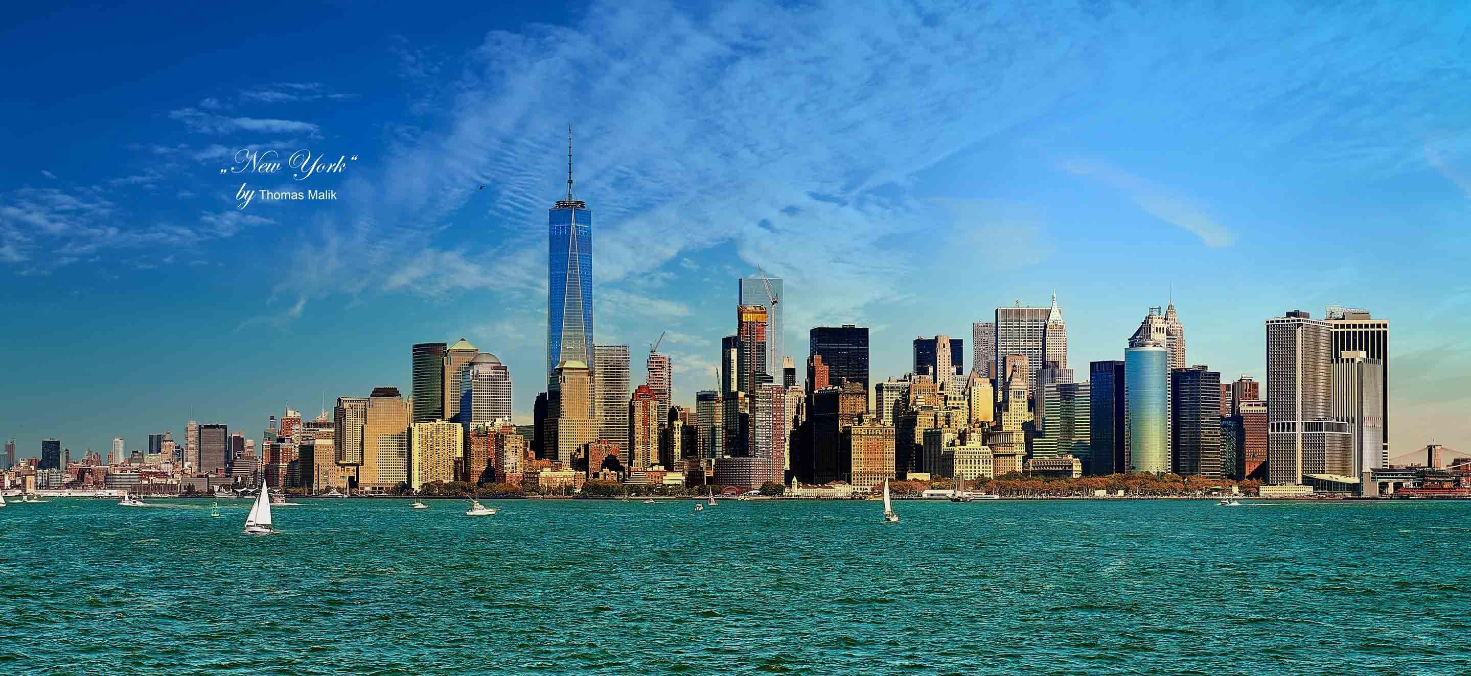 Manhattan - das kennt man.