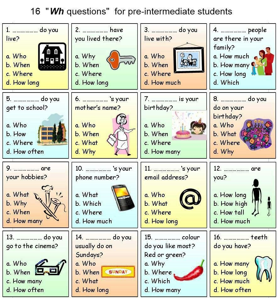 Wh questions Speech, language, 1st grade writing, Wh
