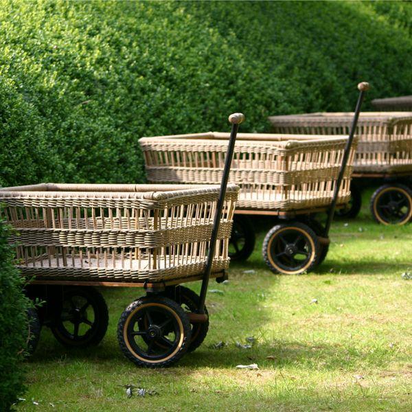 Chariot de Jardin \'Wagon\' avec Panier | Pinterest