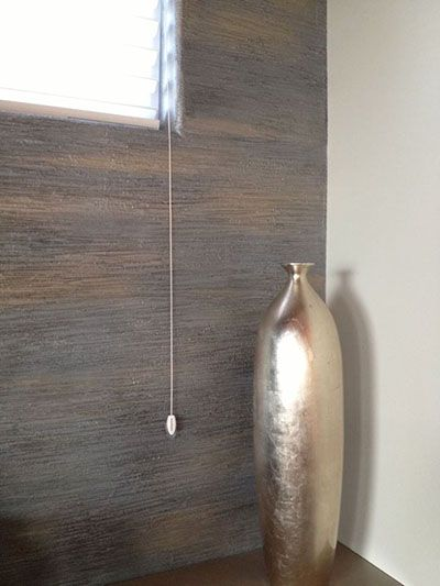 Textured Wall With Multiple Metallic Paint Colors Modern Masters Project By Tracy Wade