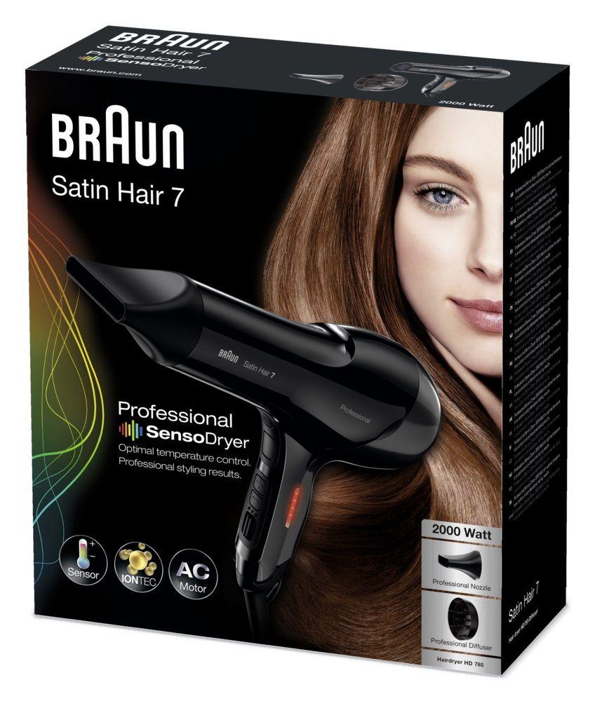 Braun Satin Hair 7 Professional Sensodryer Hair Dryer Hair Braun