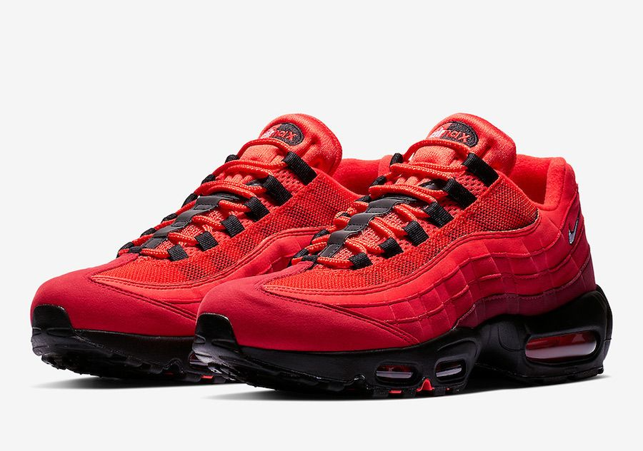 f4fe5bf37e Nike Air Max 95 Habanero Red AT2865-600 Release Date - SBD | Fire ...