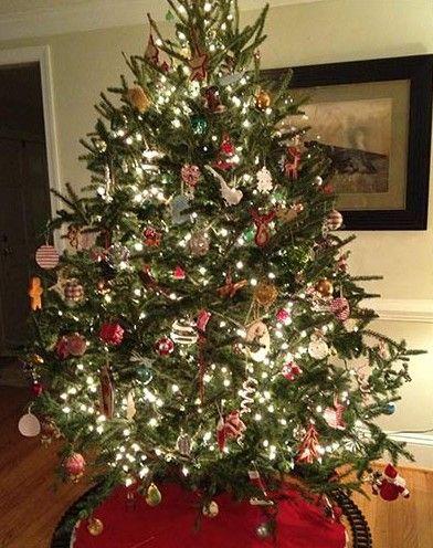 Decorated-Christmas-Tree designcorral #christmastree
