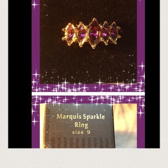 Avon NIB Marquis Sparkle Ring Avon NIB Marquis Sparkle Ring Avon Jewelry Rings