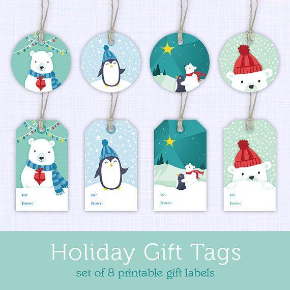printable christmas gift tags printable holiday gift tags