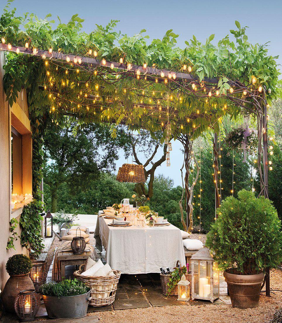 El Verano De Las Cosas Y Casas Bonitas Jardines Decoraciones De Jardin Decoracion De Unas