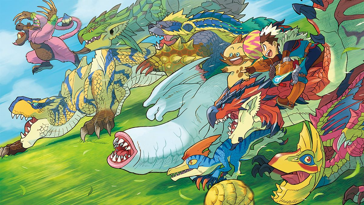 coughs up Monster Hunter Stories for the English