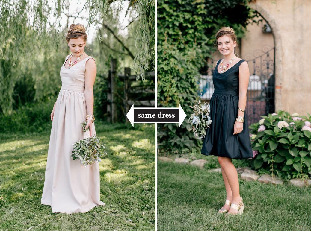 Rewearable 2 in 1 bridesmaid dresses from durga kali ombrellifo Images