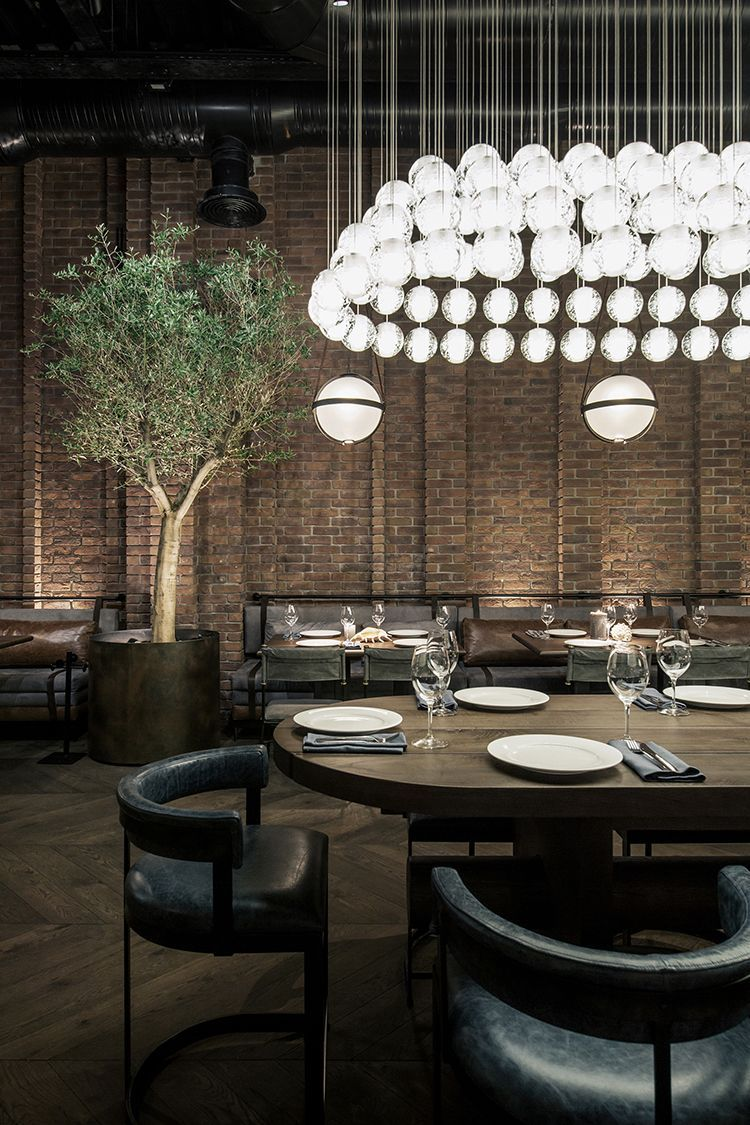 Bistro Esszimmer Am See Yodezeen Restores Fish Restaurant Catch In Kiev Restaurantdesign