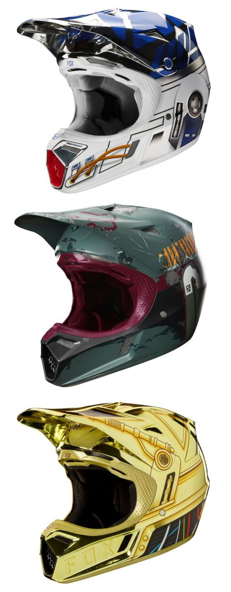 20b31c685 Star Wars Motorcycle Helmets - I am one with the FORCE.