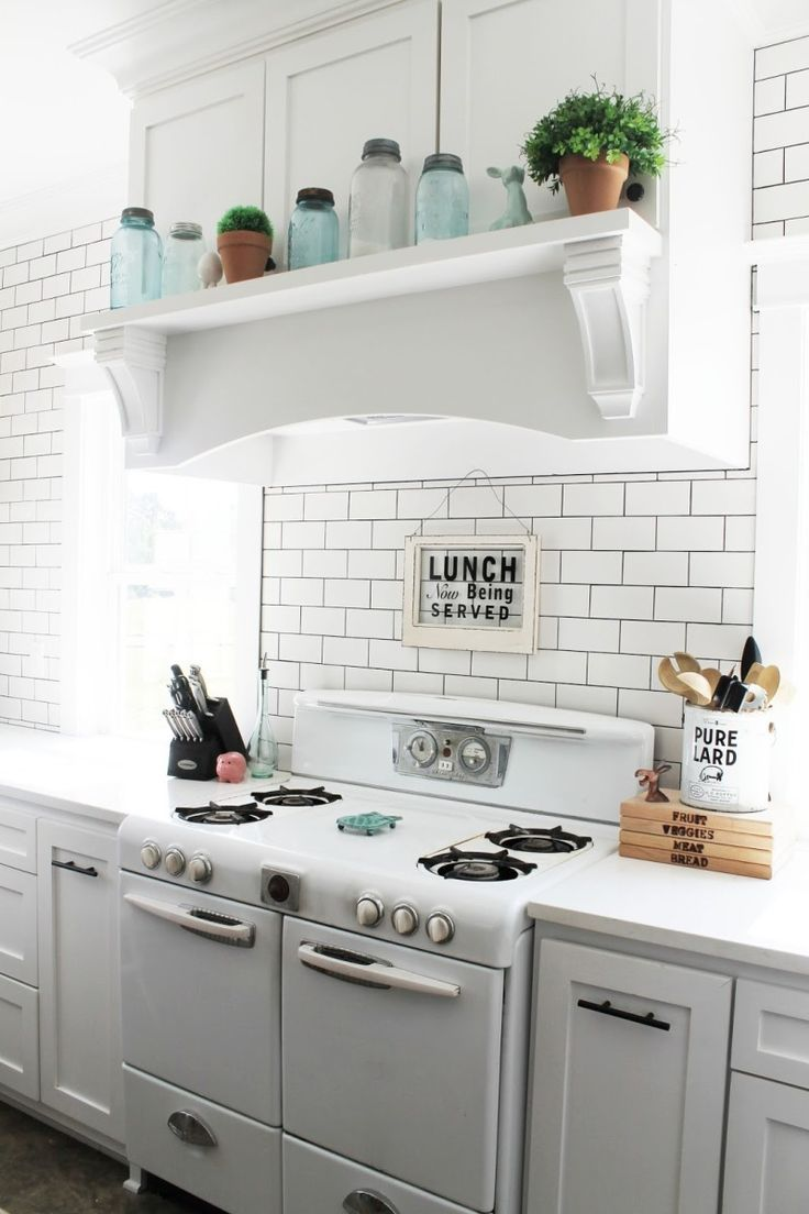 Not just a beautiful hood, but also a beautiful stove! - See more at ...