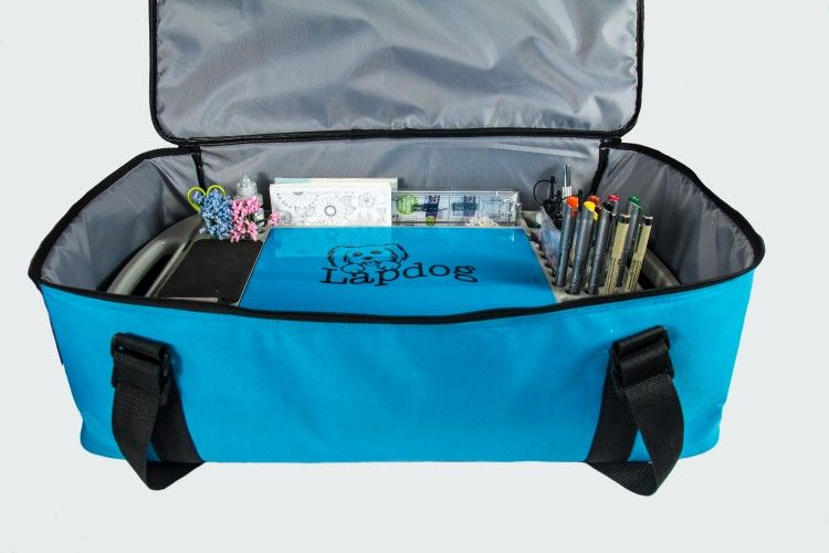 "Lapdog Tray with ""Carry-All"" Tote Bag & Flexible Light"
