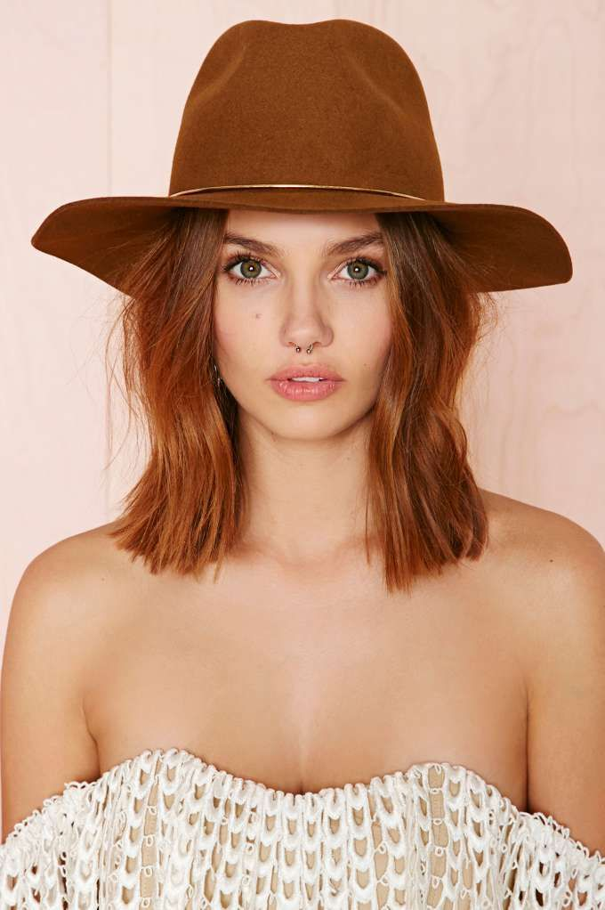 Janessa Leone Savoy Hat | Shop What's New at Nasty Gal