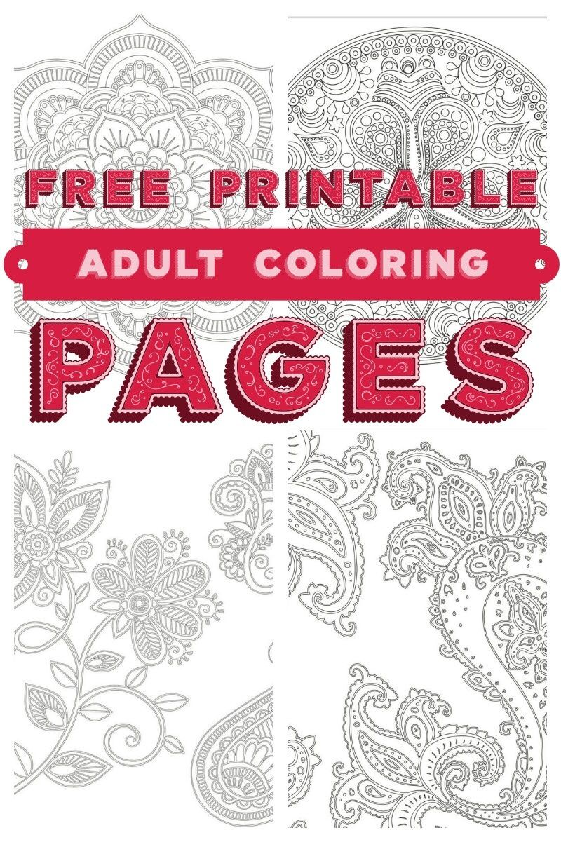 Need A Little Relaxation Time For Yourself Grab Five Free Printable Adult Coloring Pages From Skyhorse Books