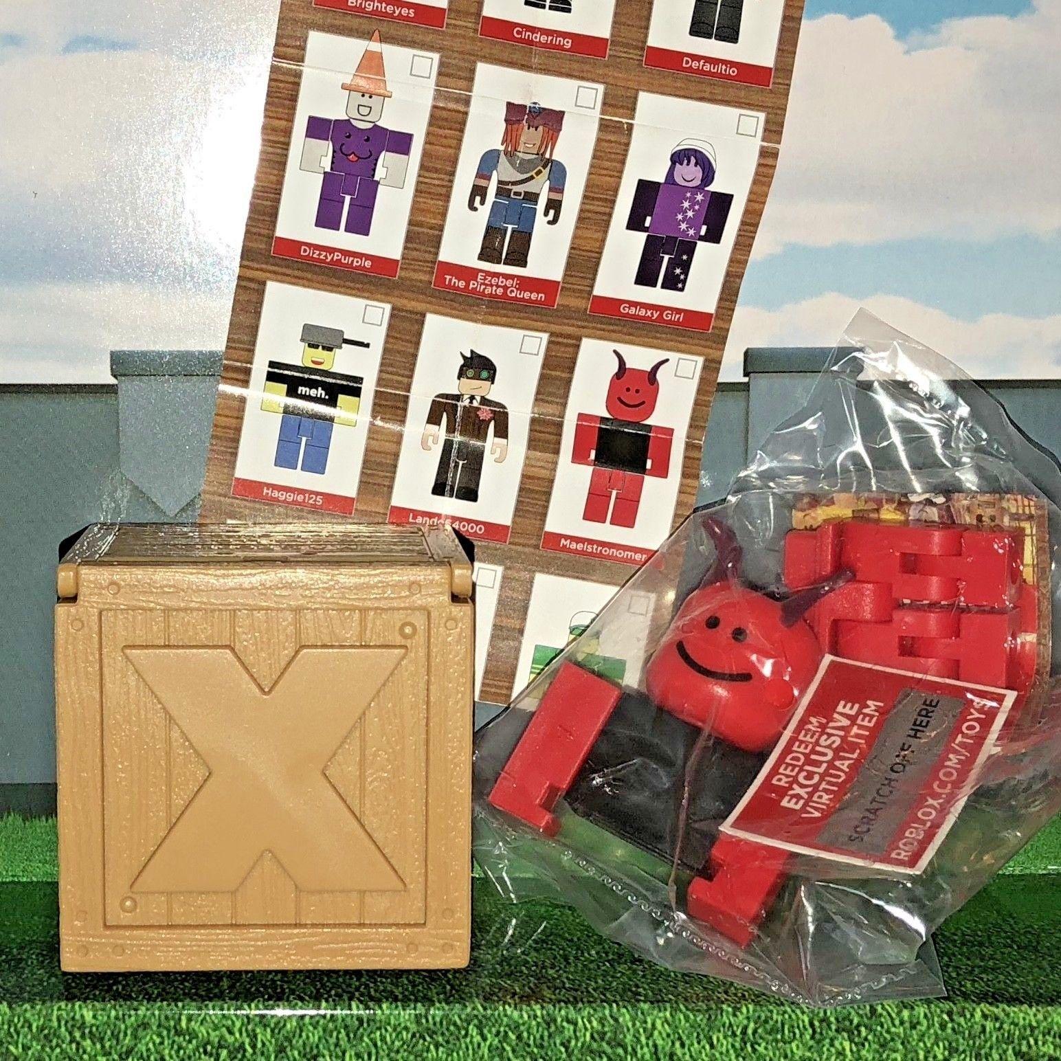 Haggie125 Roblox Mini Figure W Virtual Game Code Series 2 New Ebay - Maelstronomer Roblox Series 2 Mystery Packs 3 Figures Toys W