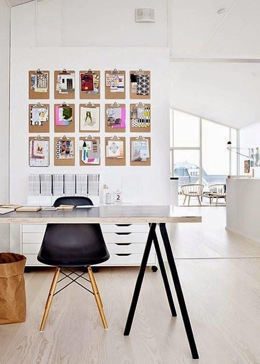 Cómo colgar láminas sin marcos: ideas inspiradoras para tu hogar | Oficina  en casa, Decoración de unas, Decoracion de interiores