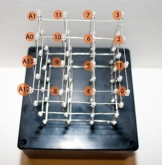 4X4X4 LED Cube W/ Arduino Uno в 2020 г (с изображениями ...