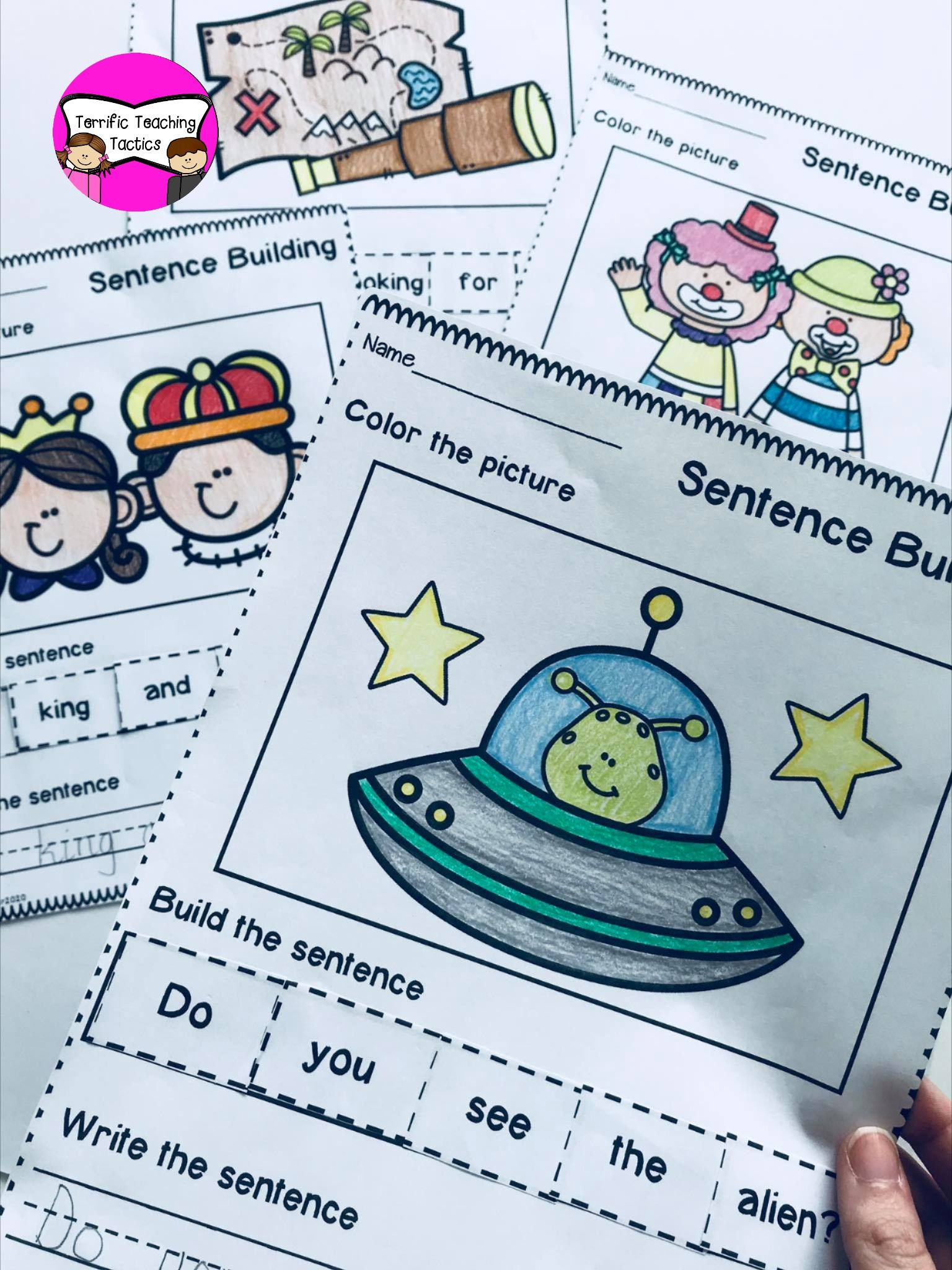 Sentence Building Themed Bundle In