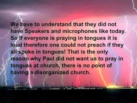 Speaking in Tongues - Biblical Proof - IN CONTEXT! gift of