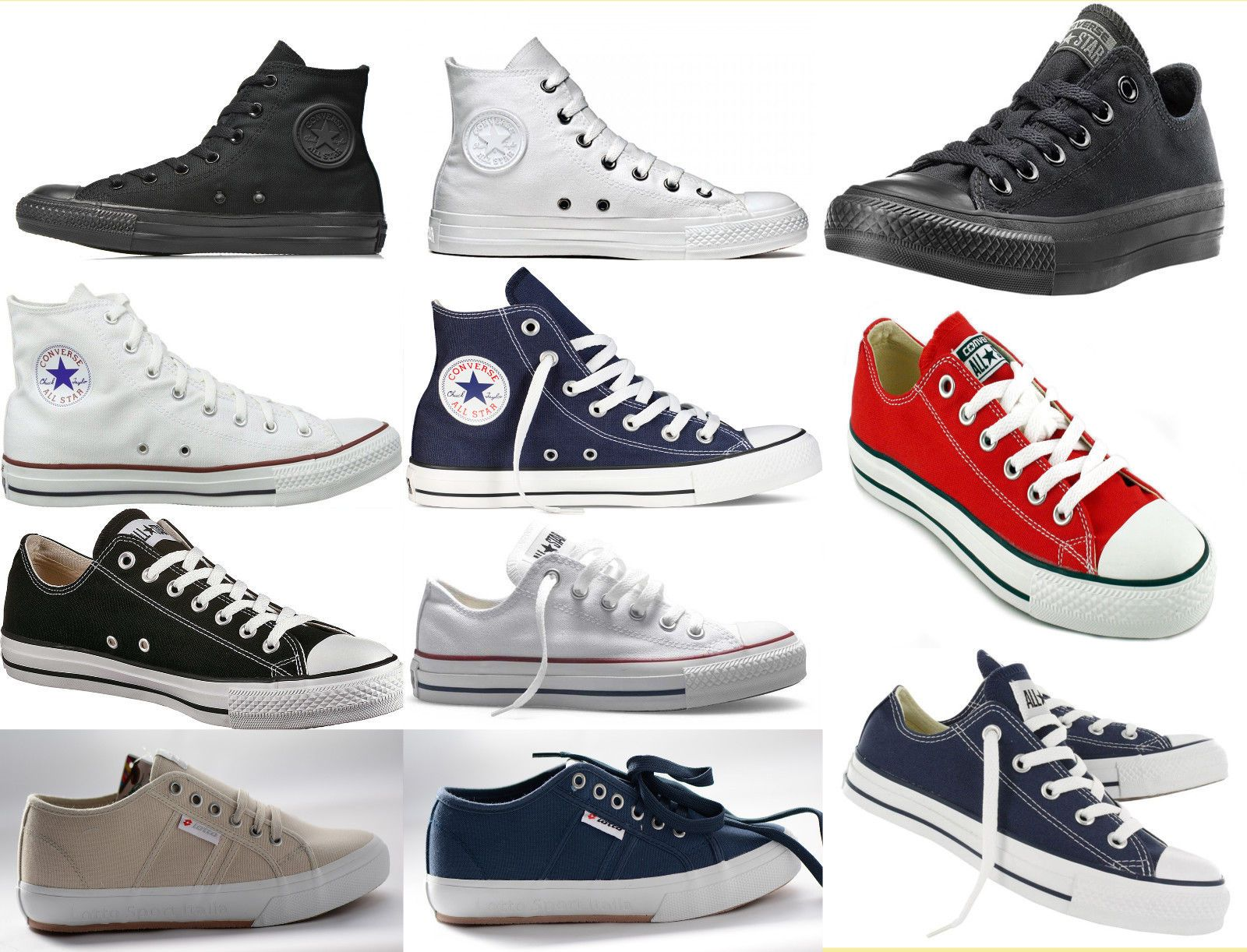 converse all star alte ragazza