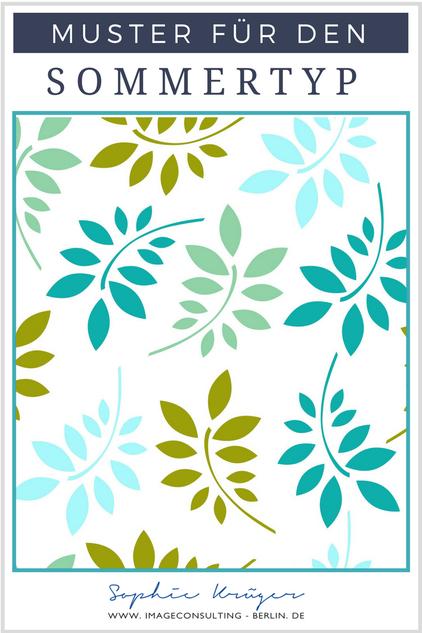 Blogartikel: die besten Muster für denSommertypen