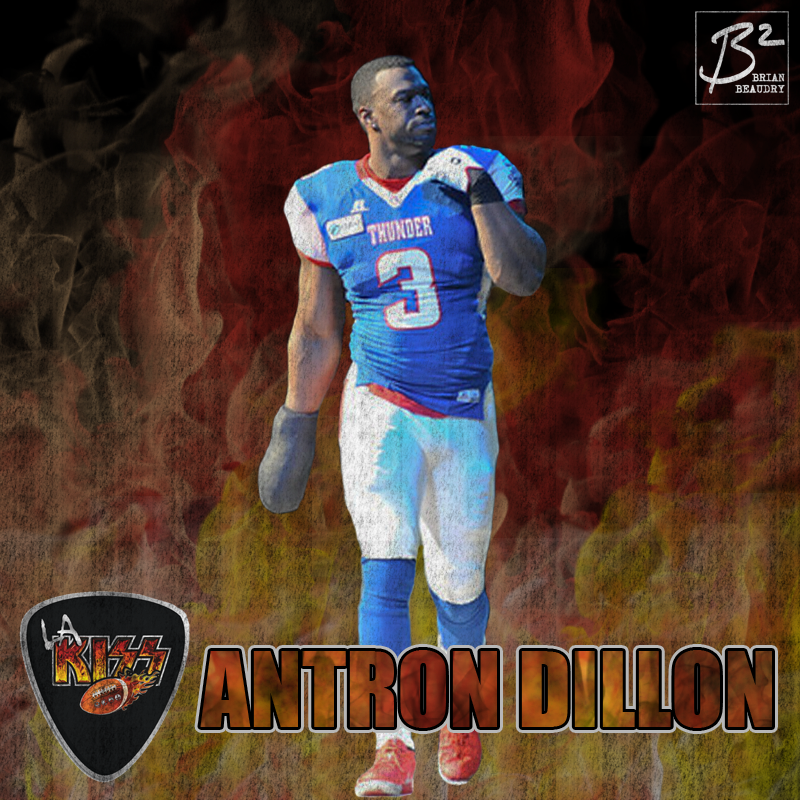 Antron Dillon's LA KISS player card