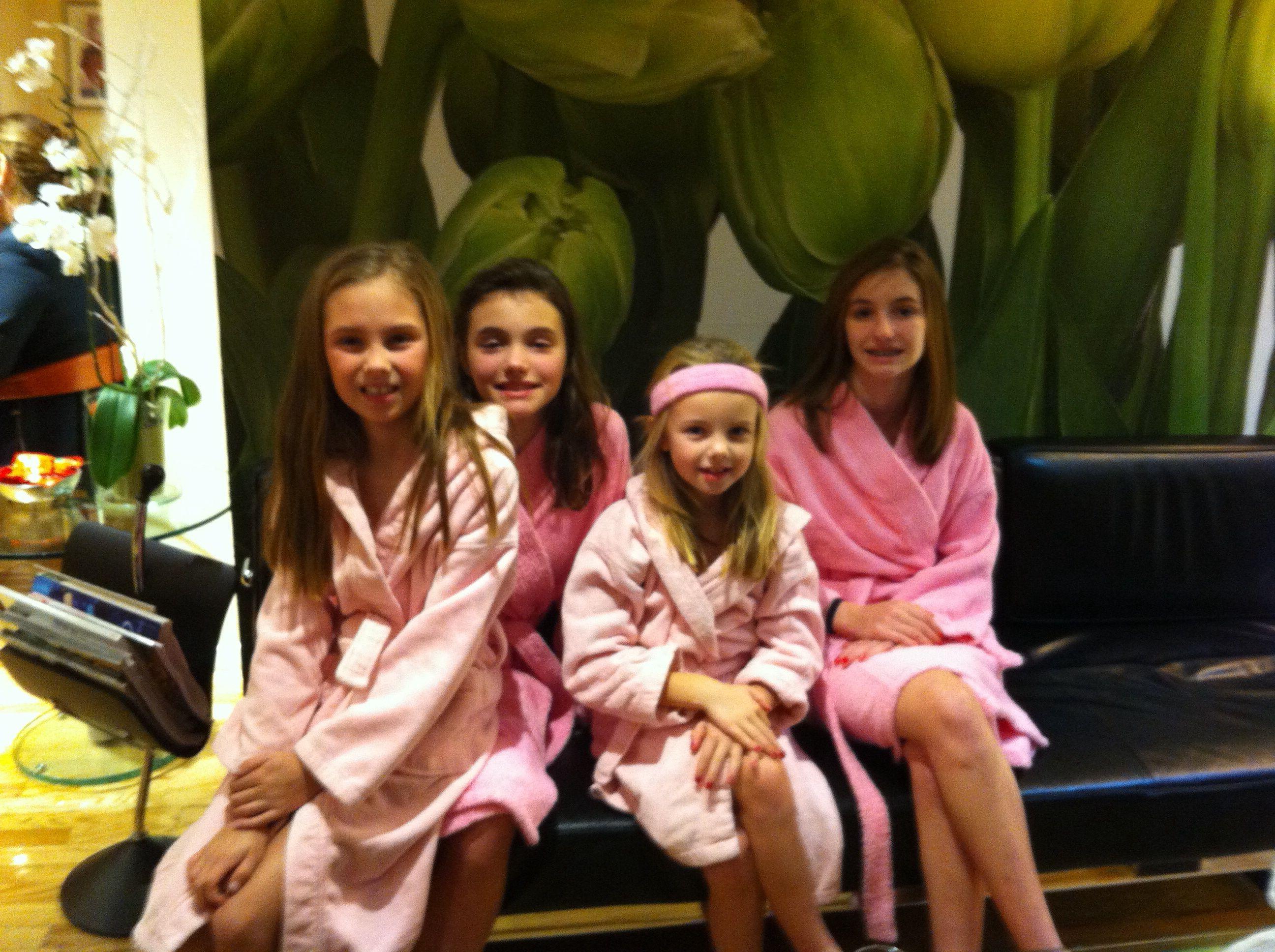 Facials ,massages , hair and make-up for teens