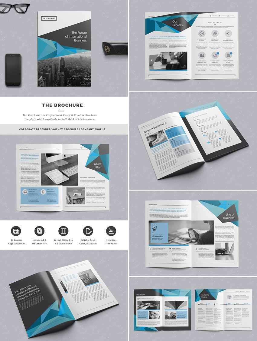 Indesign Brochure Templates | Pin By Taylor K On That S Graphic Pinterest Brochure Template