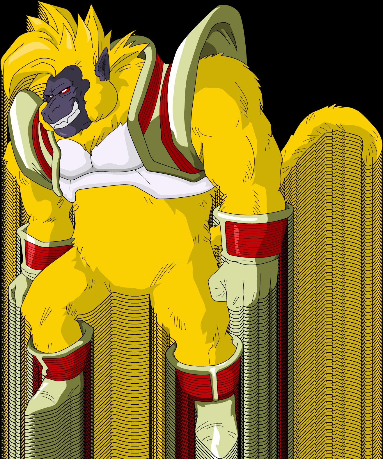 Baby Vegeta Ozaru Dorado Goku Vegeta Baby Dragon Ball Gt Y