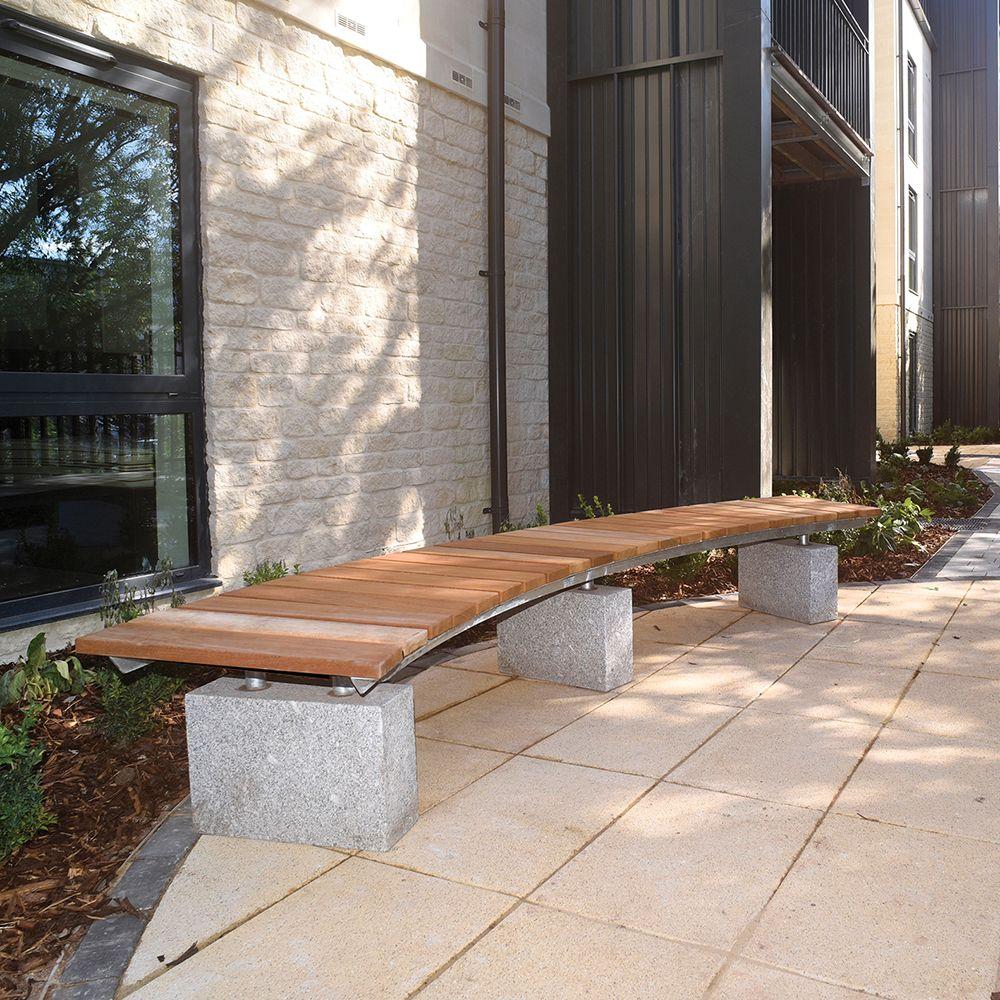 Surprising Hemstone Curved Benches Add A Striking Modern Twist To Avon Uwap Interior Chair Design Uwaporg