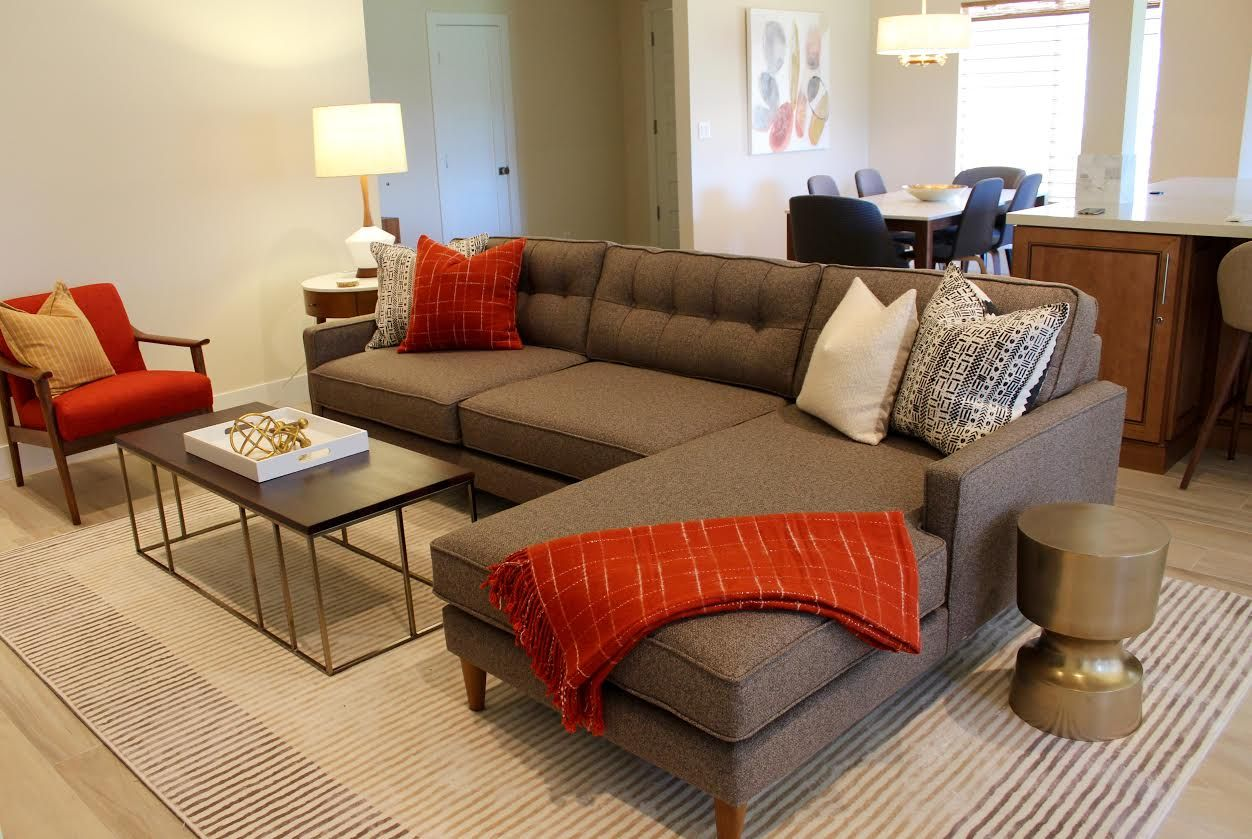 Butler Custom Sofa In Mid Century Modern Home Decor Collection At The Company Http