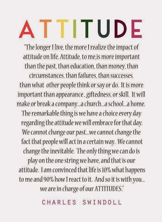 Attitude Is Everything Quote Sure Its A Good One Because