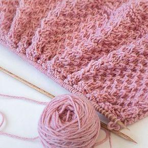 Tiny Ripples - Free Baby Blanket Knitting Pattern | Baby ...