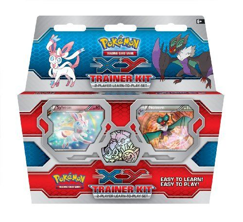 Amazon.com: XY Trainer Kit: 2-Player Learn-to-Play Set (Pokémon Trading Card Game): Toys & Games