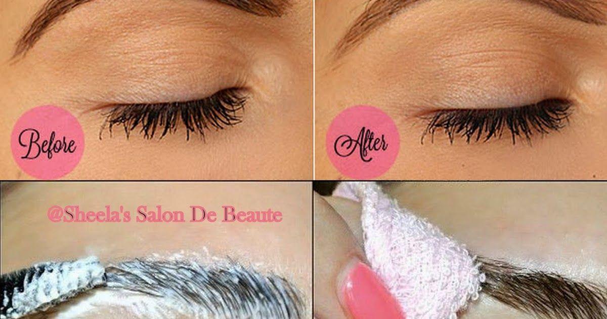 How to Lighten Your Eyebrows eyebrowslightening If you ...
