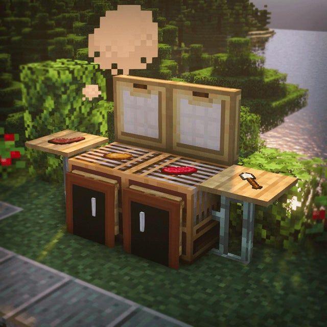 Minecraft BBQ Grill