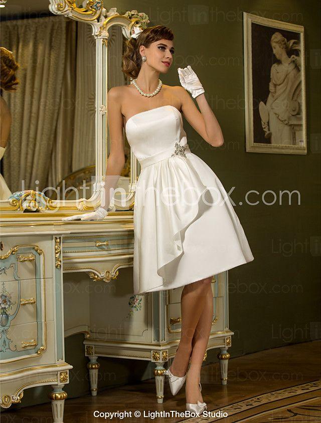 lanting bride® corte en a tallas pequeñas / tallas grandes vestido