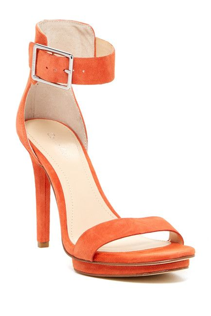 CK Vivian Suede High Heeled Sandal