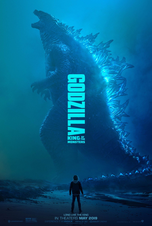 Godzilla ハリウッド版 ゴジラ の第2弾 キング オブ ザ モンスターズ が 明日の新しい予告編の公開に向けて 告知の前フリとして 怪獣王の全身を描いたポスターをリリース 北米で明日の週明け月曜日 12月10日 こそは どうやら本当に ゴジラ 2 の新