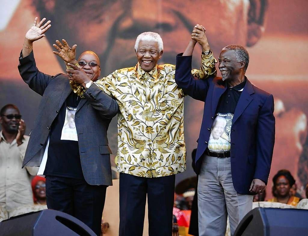 Former South African President Nelson Mandela President