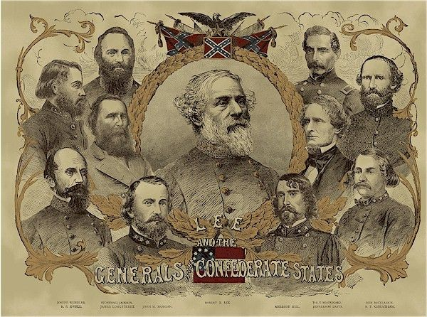 The Confederate General Panel Is Available To Order From