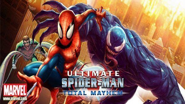 Spiderman Total Mayhem Apk Data Download Ultimate Spiderman