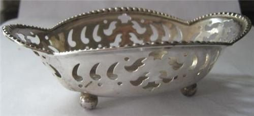 1940s Tiffany candy dish sterling by dresslikeamoviestar on Etsy, $300.00