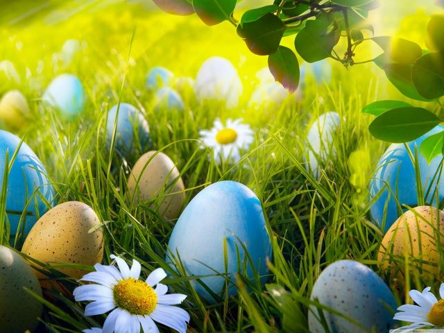 Круті шпалери на Великдень 2019 HD Пасхальні яйця